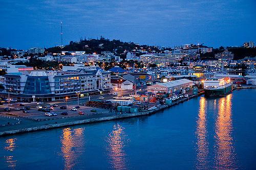 New Caledonia (via Auckland)